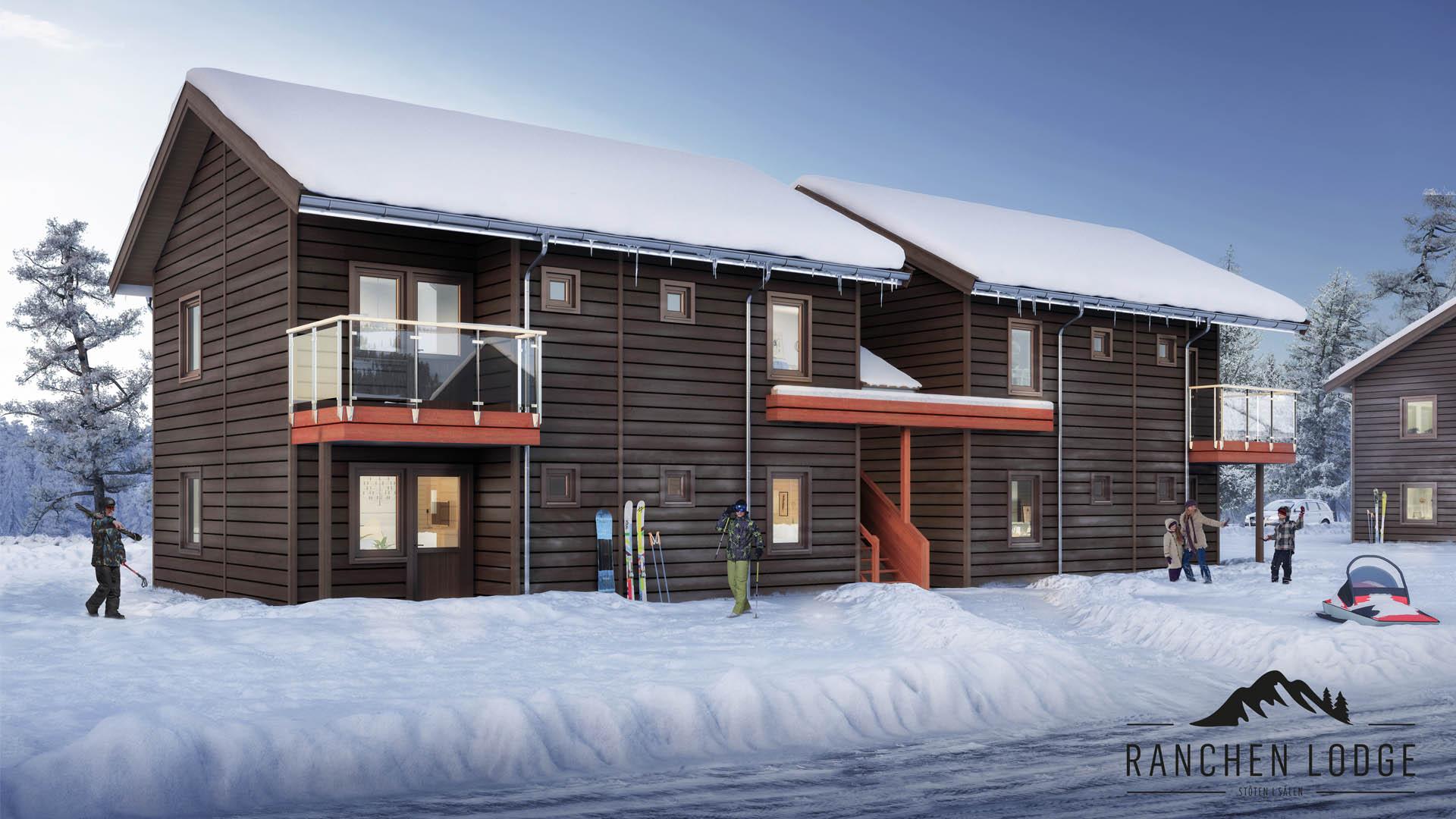 Ranchen Lodge - Exteriör