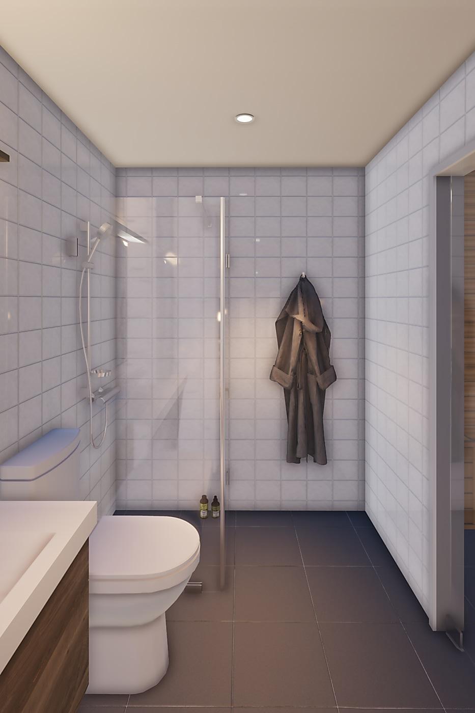 Stöten Ranchen Platån badrum